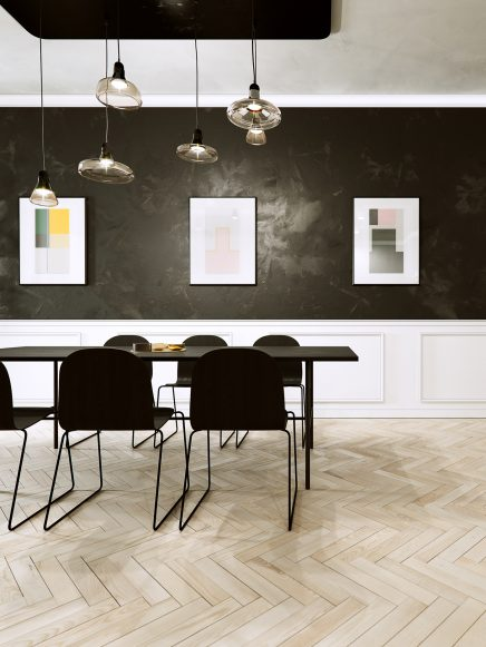 3D-Designs einer modernen klassischen Wohnung | Wohnideen einrichten