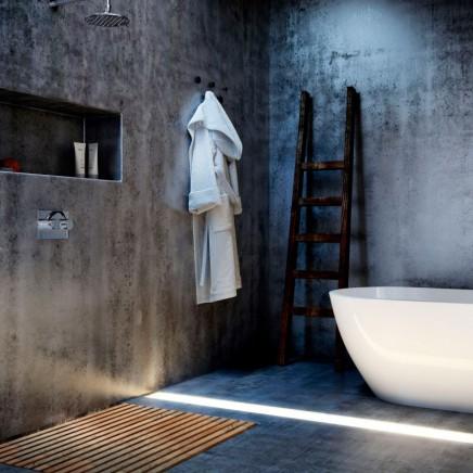 3D-minimalistische Badezimmer Designs