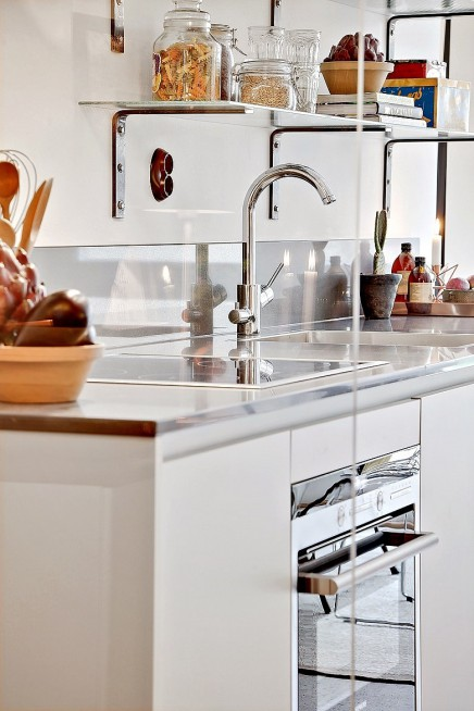 glaswand zwischen k che und wohnzimmer wohnideen einrichten. Black Bedroom Furniture Sets. Home Design Ideas