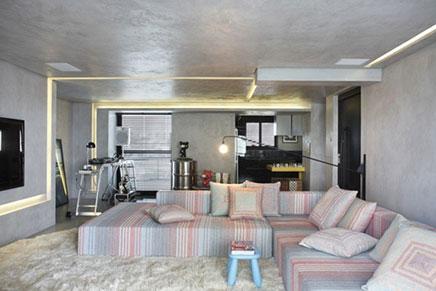 Hart Wohnung des Kaufmanns und DJ