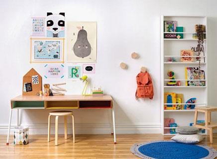 Kinderzimmer Styling mit Farbe