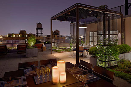 Luxus Dachterrasse Ideen aus New York (1)