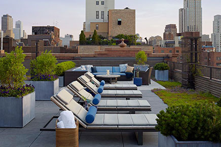 Luxus Dachterrasse Ideen aus New York (3)