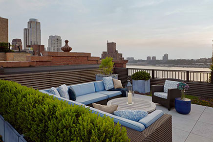 Luxus Dachterrasse Ideen aus New York (4)