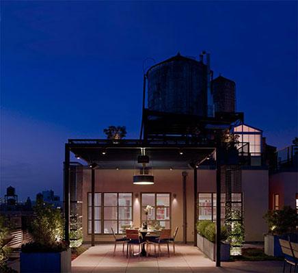 Luxus Dachterrasse Ideen aus New York (5)