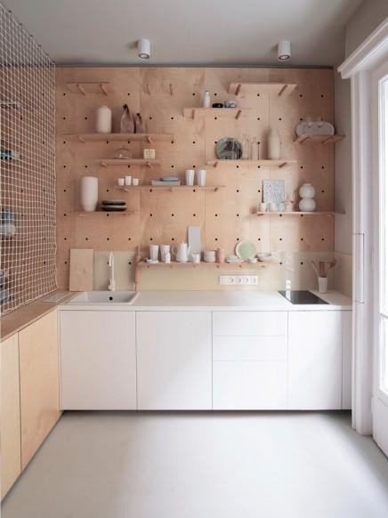 Moderne kleines studio apartment von 30m2 wohnideen for 30m2 wohnung einrichten