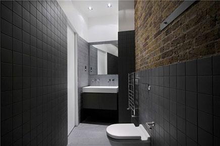 Schlafzimmer alten Lagerhaus-Wohnung in London (2)