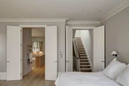 Stilvolles Badezimmer viktorianischen Hause