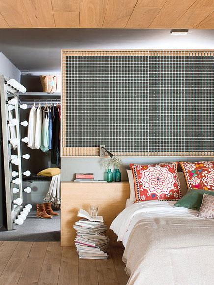 Transparente Schlafzimmer Loft in Barcelona  (2)