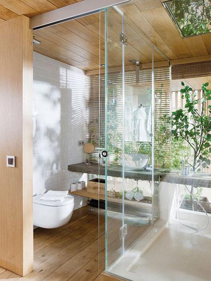 Transparente Schlafzimmer Loft in Barcelona  (4)