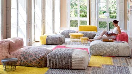 Wolle Modul Sofa Von Patricia Urquiola Wohnideen Einrichten