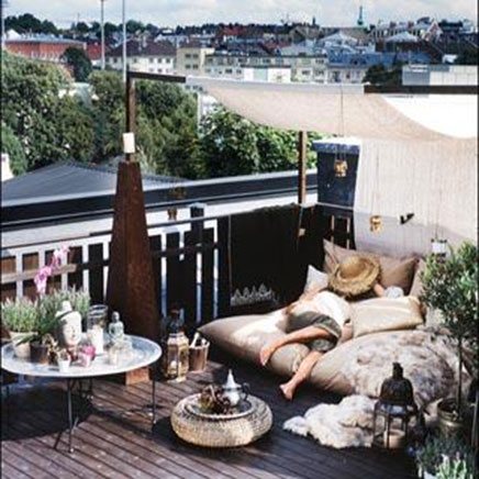 Anonymous Dachterrasse