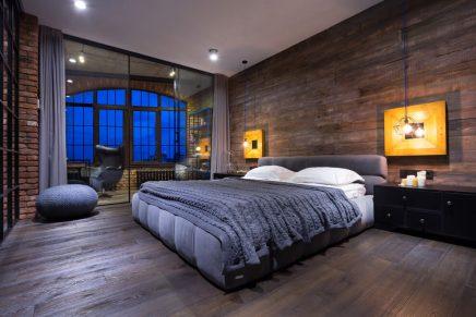 attraktive-industrie-loft-schlafzimmer (1)