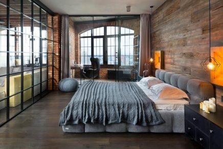 attraktive-industrie-loft-schlafzimmer (3)