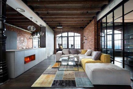 Attraktive Industrie Loft Schlafzimmer | Wohnideen einrichten