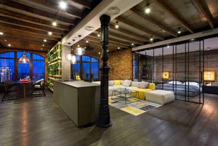 attraktive-industrie-loft-schlafzimmer (6)