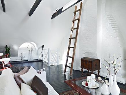 Authentic wohnzimmer in Schweden