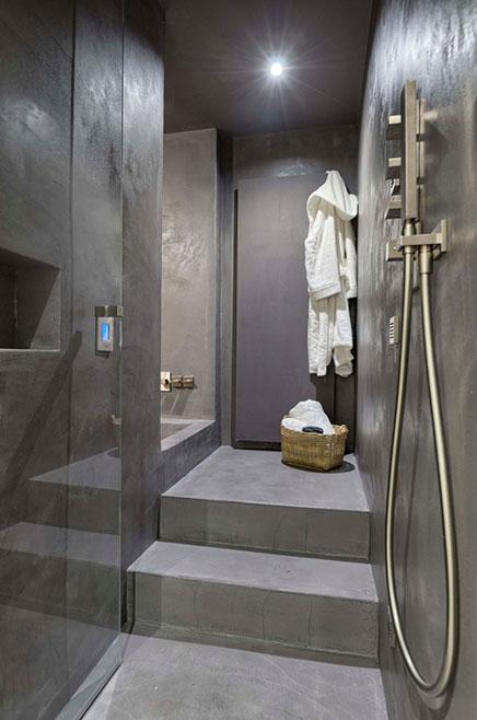 Badezimmer Mit Beton Beton Und Holz Cire Wohnideen Einrichten