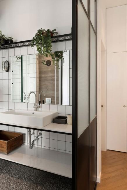 badzimmer design industrie schicke note wohnideen einrichten. Black Bedroom Furniture Sets. Home Design Ideas