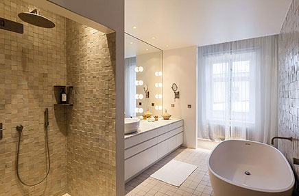 Badezimmer Ideen des Modedesigners Filipe K