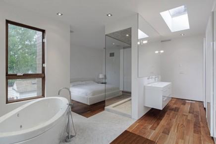 badezimmer schlafzimmer combi wohnideen einrichten badezimmer dekoo - Schlafzimmer Mit Badezimmer
