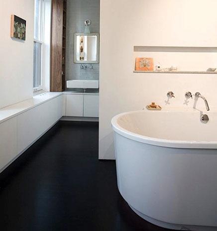 Großes Badezimmer Viktorianisches wohnung