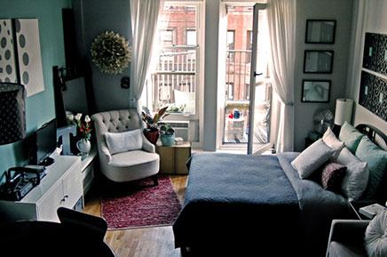 Balkon dekorieren kleine Wohnung