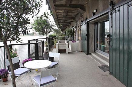 Balkon Ideen ehemalige Lagerhaus Rotterdam