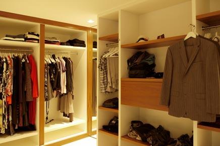 Begehbarer Kleiderschrank von Leonarddus Innenarchitekt