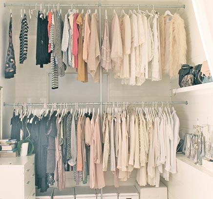 Begehbarer kleiderschrank von Modeblogger Cathrine