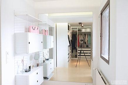 begehbarer kleiderschrank im dachgeschoss nanna. Black Bedroom Furniture Sets. Home Design Ideas
