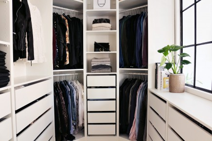 begehbarer kleiderschrank von fashionsta christina von kopenhagen wohnideen einrichten. Black Bedroom Furniture Sets. Home Design Ideas