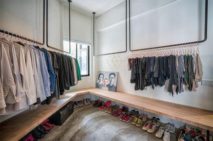 begehbarer kleiderschrank hatte wie ein minimalistischen, Hause deko
