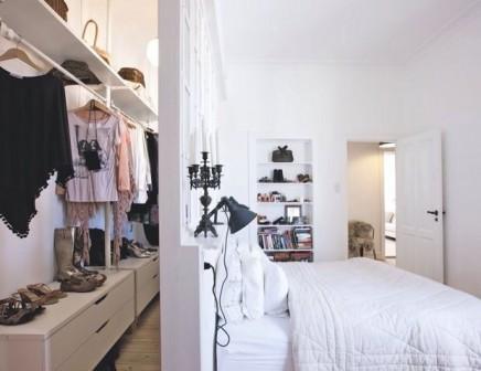 Bekannt 10x begehbarer Kleiderschrank hinter dem Bett | Wohnideen einrichten OL45