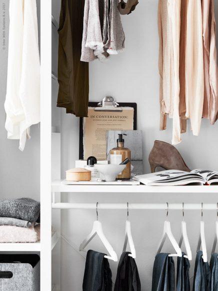 Begehbarer kleiderschrank IKEA ELVARLI | Wohnideen einrichten