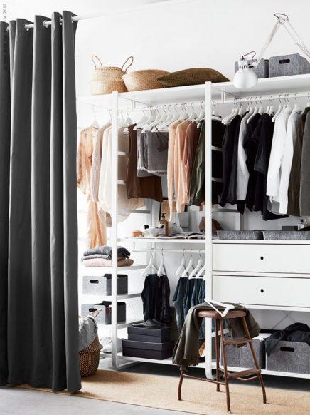 Ikea Stolmen Begehbarer Kleiderschrank.Begehbarer Kleiderschrank Ikea Elvarli Wohnideen Einrichten