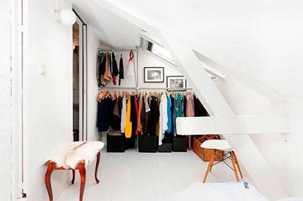 Begehbarer kleiderschrank loft