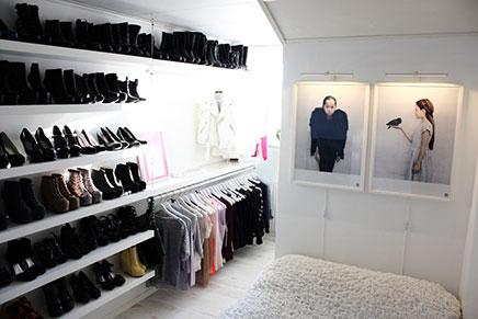 Begehbarer kleiderschrank von Blogger Sara