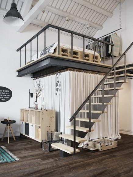 begehbarer-kleiderschrank-unter-mezzanine (2)