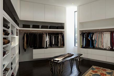 Begehbarer Kleiderschrank von Villa aus Texas
