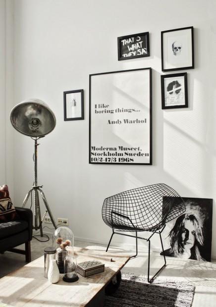 bertoia-diamond-chair-zwart
