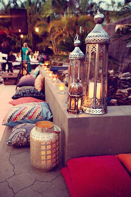 Bohemian balkon ideen wohnideen einrichten for Boho dekoration