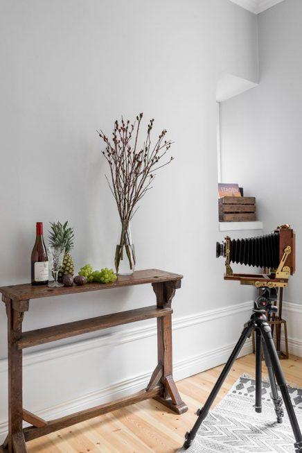 Büro eingerichtet wie ein Vintage Foto Zimmer | Wohnideen einrichten