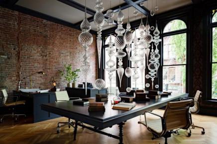 Büro einrichtungsideen modern  Büro mit gotischen Atmosphäre | Wohnideen einrichten