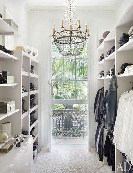Chic begehbarer Kleiderschrank von Lee Ledbetter