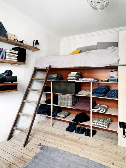creatieve-schlafzimmer-recyceltem-holz