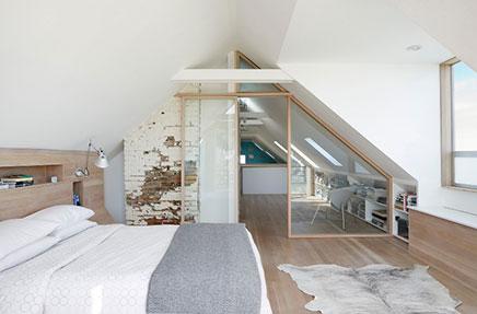 Dachgeschoss Schlafzimmer in Victorian Hause