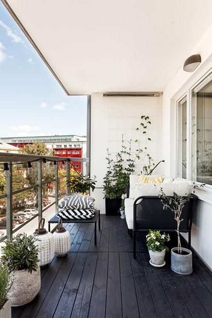 Dachten Balkon
