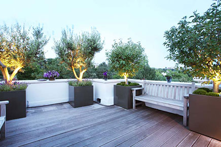 dachterrasse ideen von notting hill wohnideen einrichten. Black Bedroom Furniture Sets. Home Design Ideas