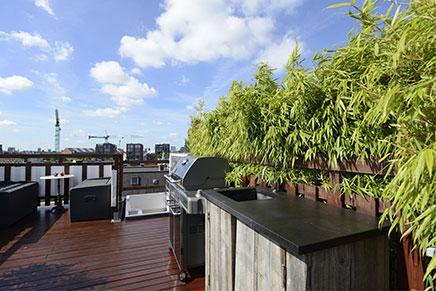 Dachterrasse Ideen bei der Westerpark